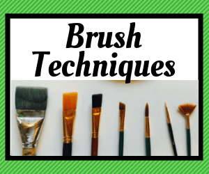 Link to brush techniques for beginner painters