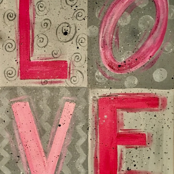 LOVE Painting