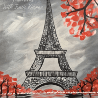 How To Paint Eiffel Tower