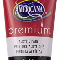 Deco Art Pyrrole Red Americana Premium Acrylic Paint Tube 2.5oz