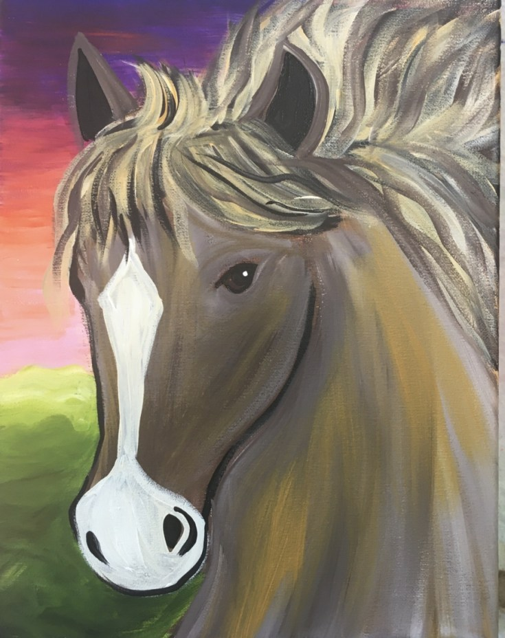 How To Paint A Horse