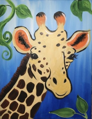 How To Paint A Giraffe