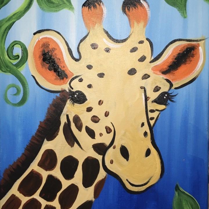 How To Paint A Giraffe