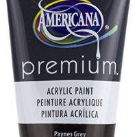 DecoArt Payne's Grey Americana Premium Acrylic Paint Tube 2.5oz