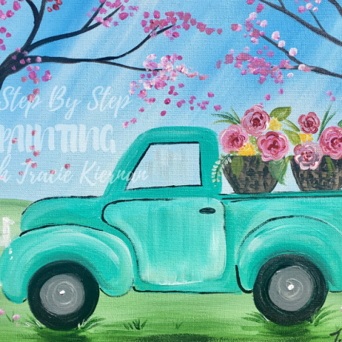 Spring Truck Painting