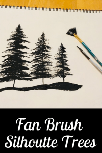 Link to Fan Brush Tree Silhouette Technique