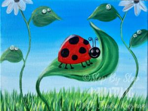 Ladybug Painting