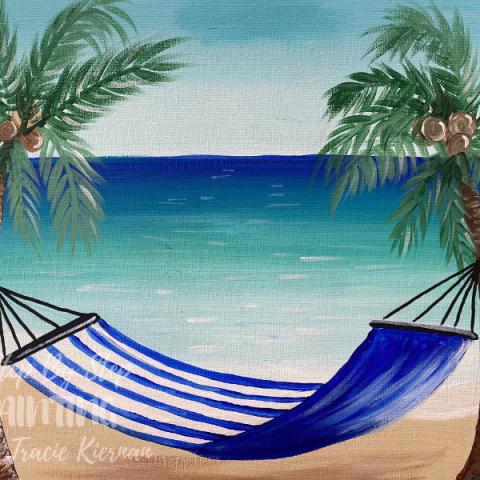 Hammock Beach Painting