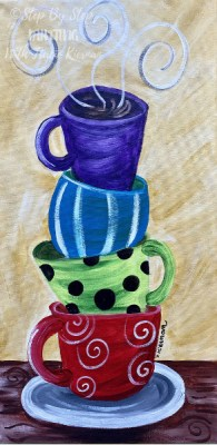 Coffee Archives Step By Step Painting With Tracie Kiernan