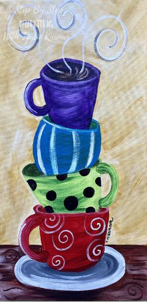Whimsical Coffee Cups