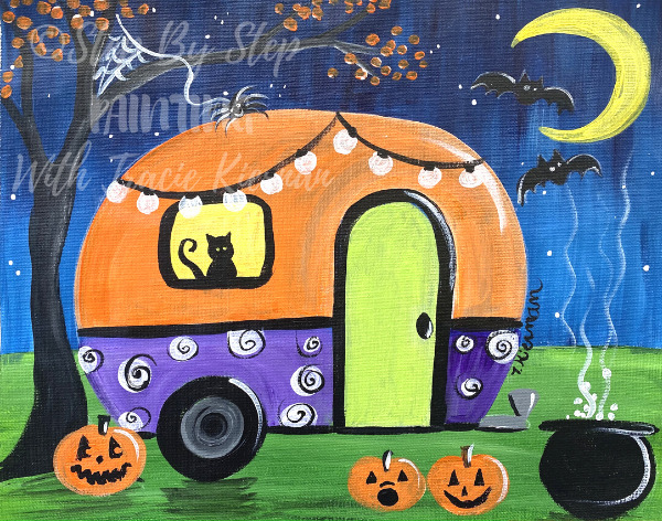 Halloween Camper
