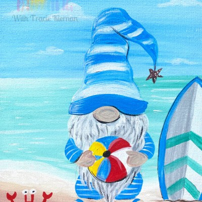 Summer Gnome Painting Tutorial
