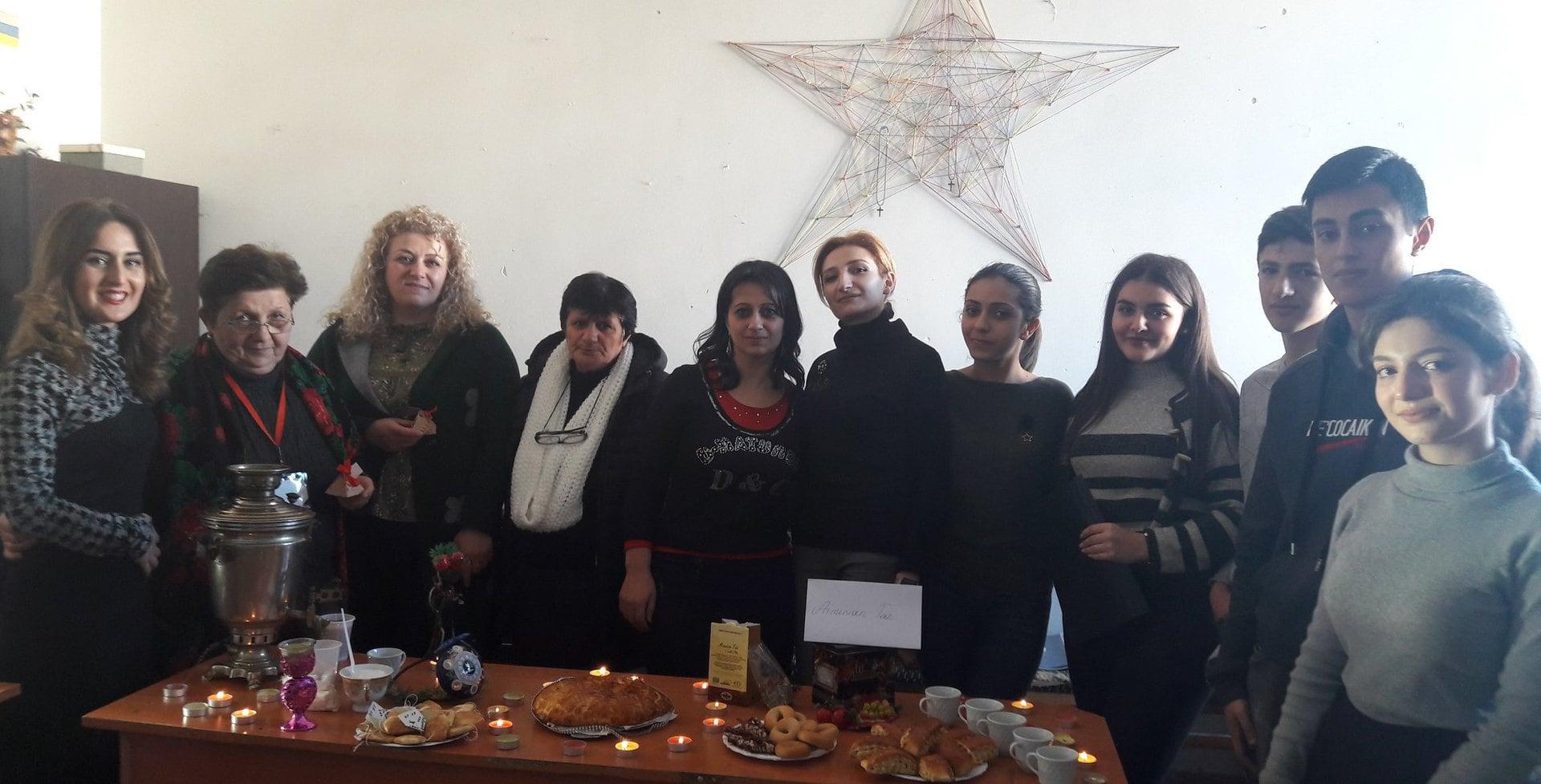 Բաց դաս նվիրված  թեյի միջազգային օրվան