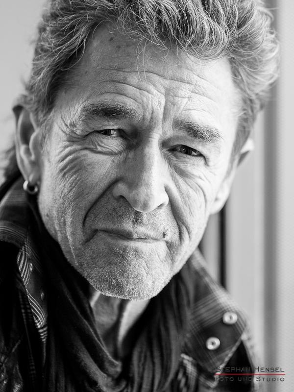 Peter Maffay im Studio bei Stephan Hensel, Portraitfotograf: Stephan Hensel