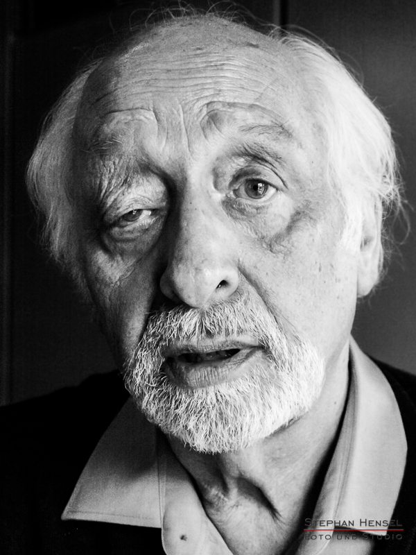 Karl Dall im Studio bei Stephan Hensel, Portraitfotograf: Stephan Hensel