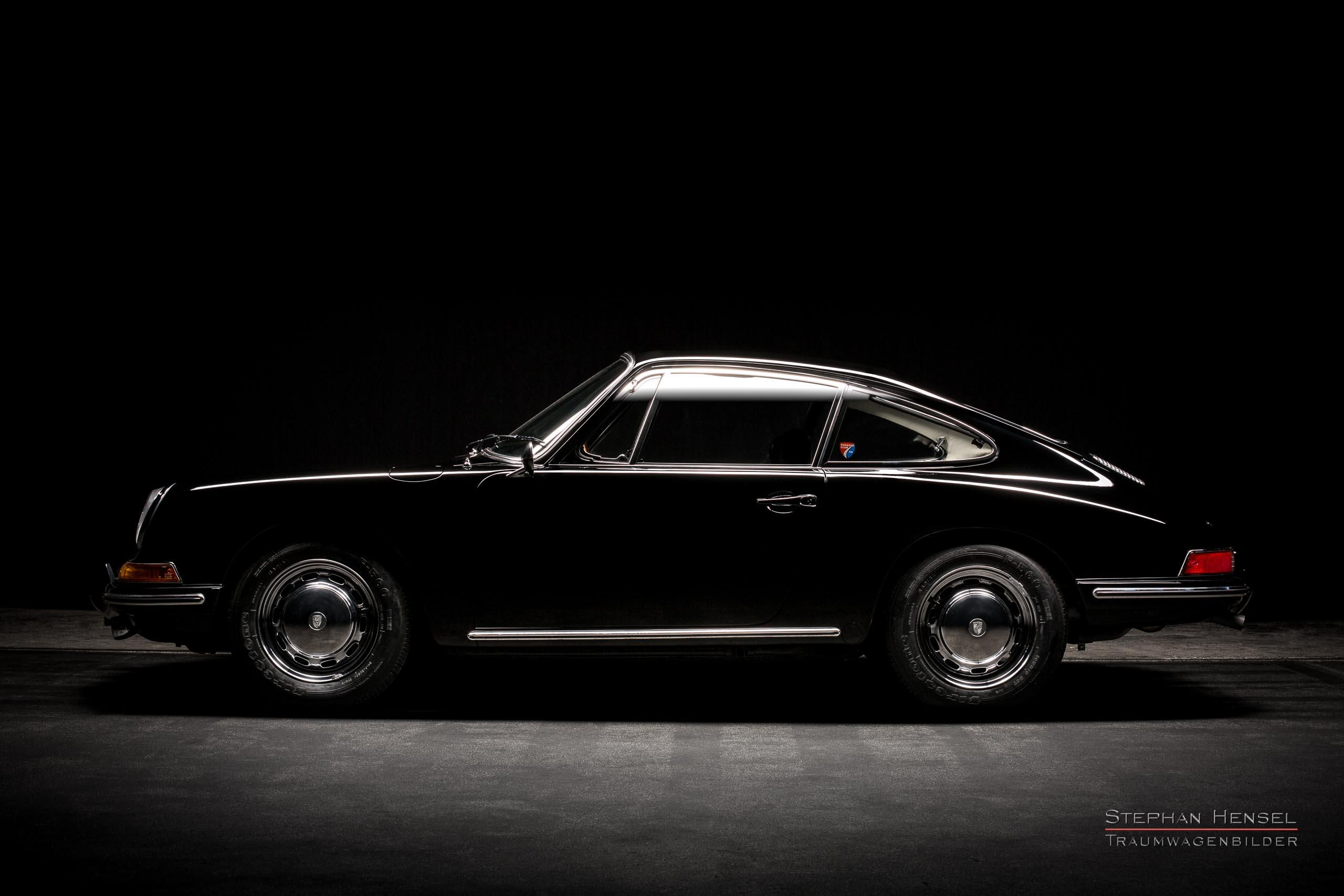 Porsche 912, Seitenansicht von links, Autofotograf: Stephan Hensel, Oldtimerfotograf, Hamburg