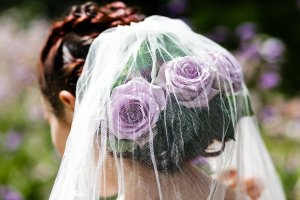 Flowers and Veil