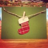 Home Made Christmas Card