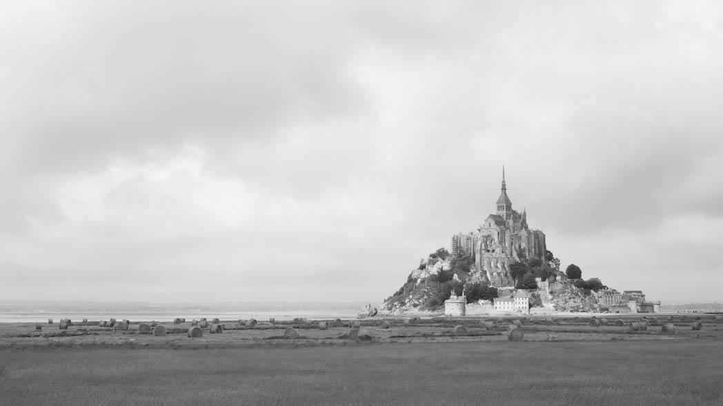 Lumière sur le Mont-Saint-Michel