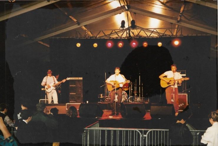 Photo du Printemps de Bourges, vers 1995