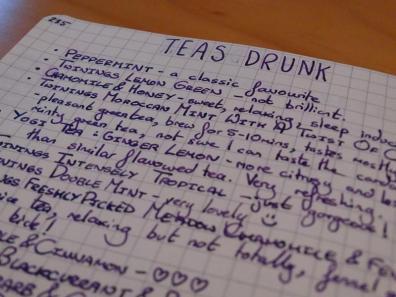 Tea tracker