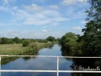 View of the River Trent from an aqueduct
