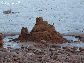 Sandcastle - alas, I didn't build it, but its pretty awesome!