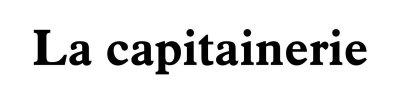 Logo de La Capitainerie de Marseille