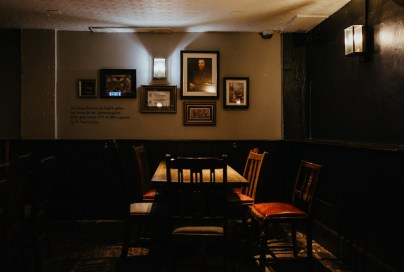 Old Thameside Inn interior. Borough Market. Picture by Stephanie Green Weddings