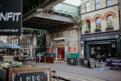 Tacos el Pastor, a restaurant at London's Borough Market. Picture by Stephanie Green Weddings
