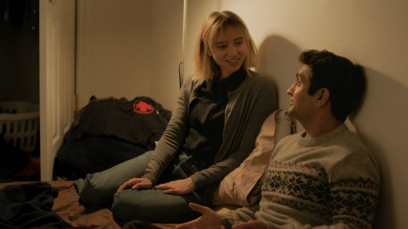 A movie still from The Big Sick