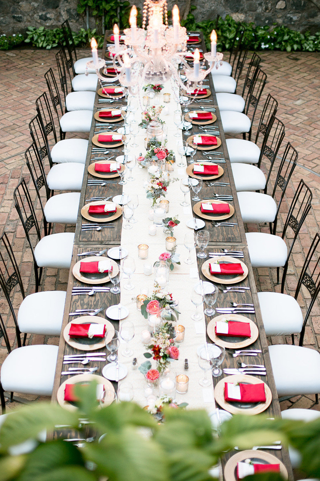rectangular tables add spice to your