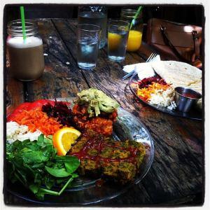Missing my fave vegan brunch spot, La Lumiere de Mile End