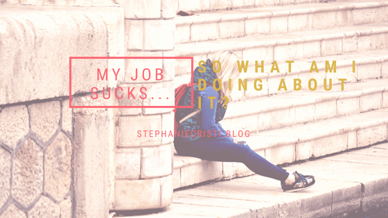 """Stephanie Cristi tells her story about struggling to find a career she loves after earning degrees in the """"safe route"""" of ABA and thinking """"I hate my job""""."""