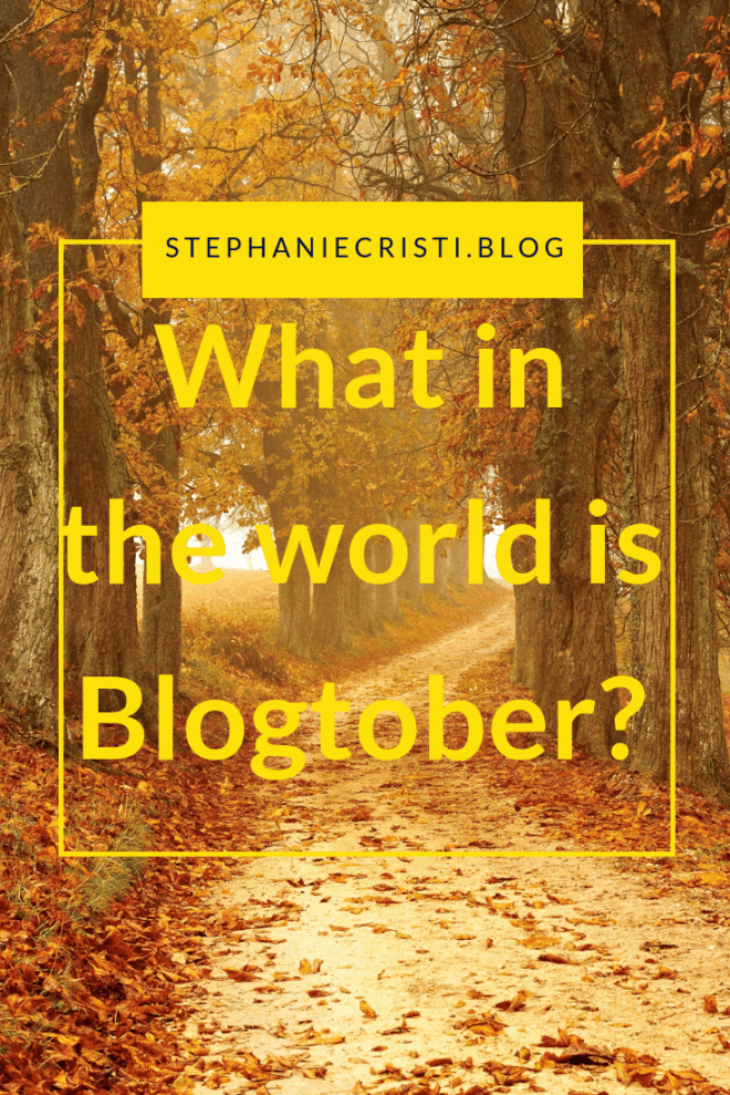 What is Blogtober?