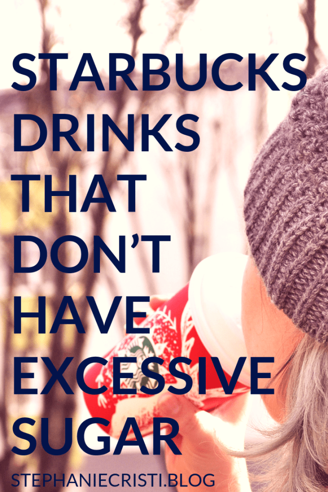 Everyone wants to be healthy and it\'s no lie many of us want to stay fit too... so check out these 5 Starbucks drinks without excessive sugar. #starbucks #drinks