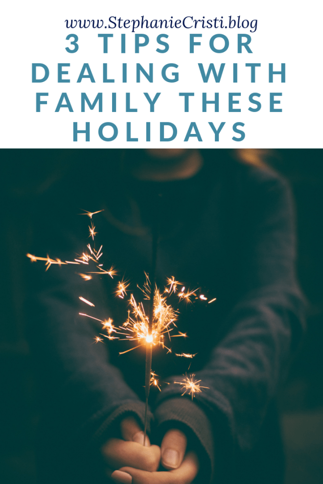 That time from Thanksgiving and New Years can be tough for many. Be sure to read this post if you need help on how to deal with family during the holidays.