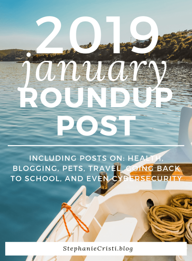 January 2019 Roundup - What a Stressful and Empowering Month!
