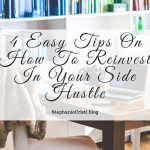 Having a side hustle can be a really exciting and fun experience, but of course, like all things, it gets to a point where it needs money. And whether you're running this business for the passion or for financial gain, it's important to reinvest money into your business in order for it to grow. So here's how to save money so that you can reinvest in your side hustle!