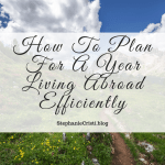 While moving abroad is a great opportunity, it's not one that many get in life. It's a big step and you should plan for living abroad efficiently.