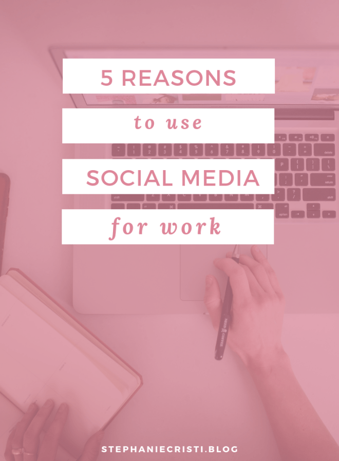 You have to stay up-to-date with the times as a business owner! So today, we\'re discussing the top 5 reasons to use social media for work, especially social media for business.