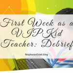 In case you hadn't seen on my YouTube or Twitter feed, I'm thrilled to say I'm now officially a teacher for VIPKid! And so, today I want to share how my first week as a VIPKid teacher went!