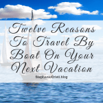 Boat travel has become a less popular option, replaced by faster methods of transport. If you're looking for a more leisurely pace of vacation, on your next trip, consider ditching the car or the train, and travel by boat.