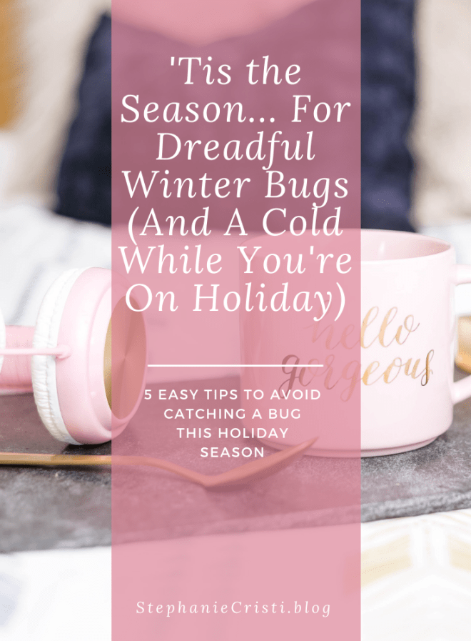 It is that time of year again. Sneezing uncontrollably, a nose that won't stop running, maybe your head is pounding, your bones and muscles are aching and you just can't focus. It sounds like you are coming down with one of the most common winter bugs - just in time for your Christmas product launch, or a cold while you\'re on holiday vacation.