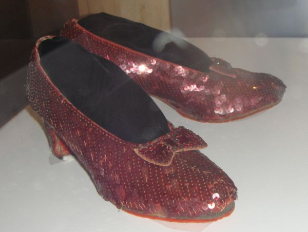 Dorothy's ruby red slippers – Stephanie Dale