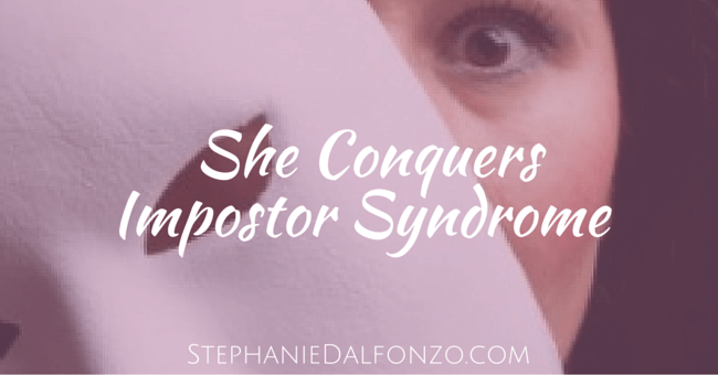 She Conquers Impostor Syndrome