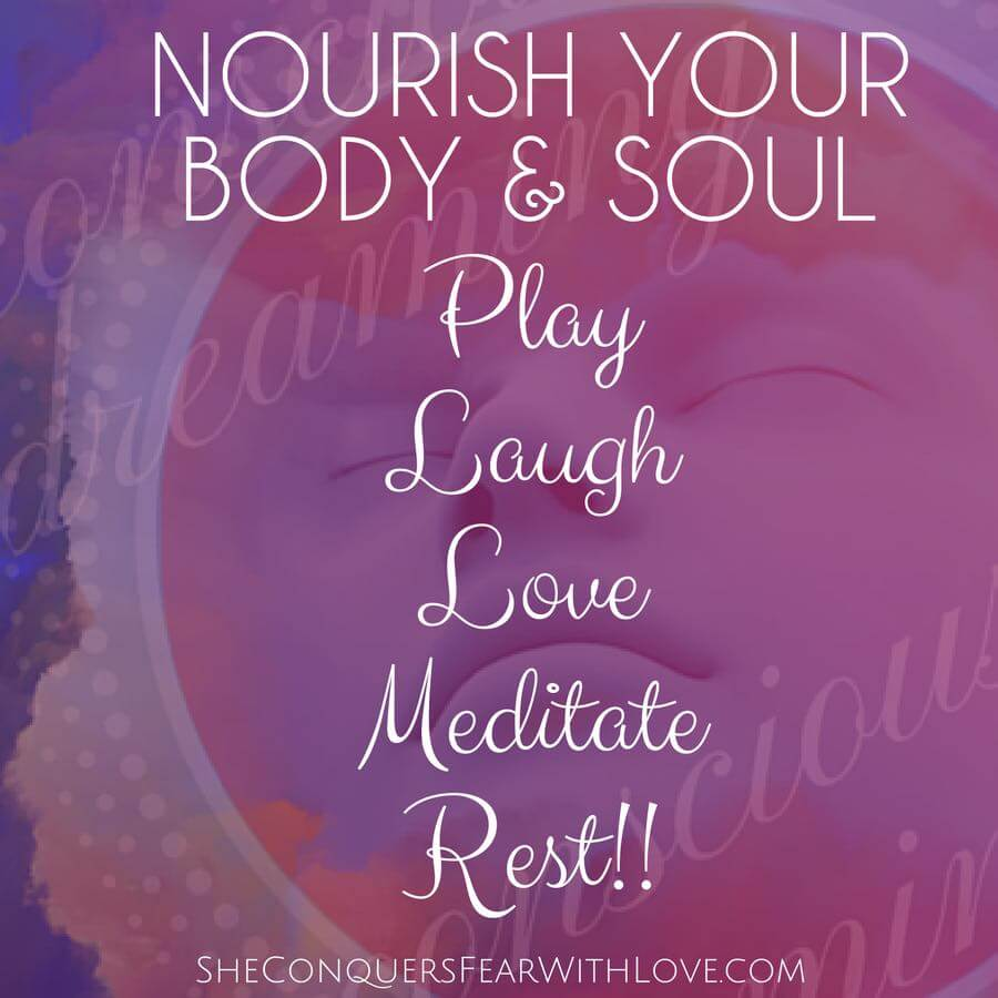 Nourish your body and soul