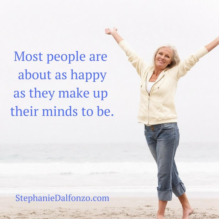 Do you choose to be happy?
