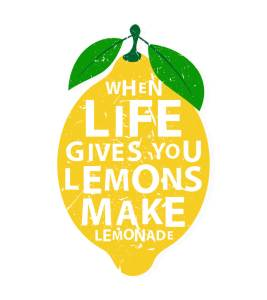 when life gives you lemons make lemonade anxiety relief