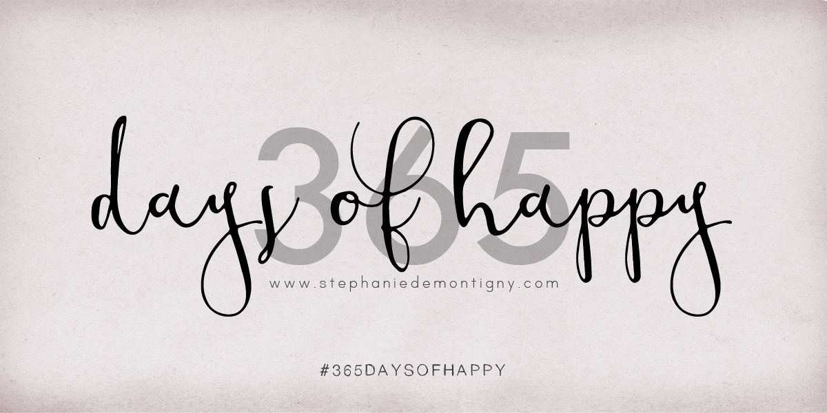 Check Out This Year's Project: 365 Days Of Happy